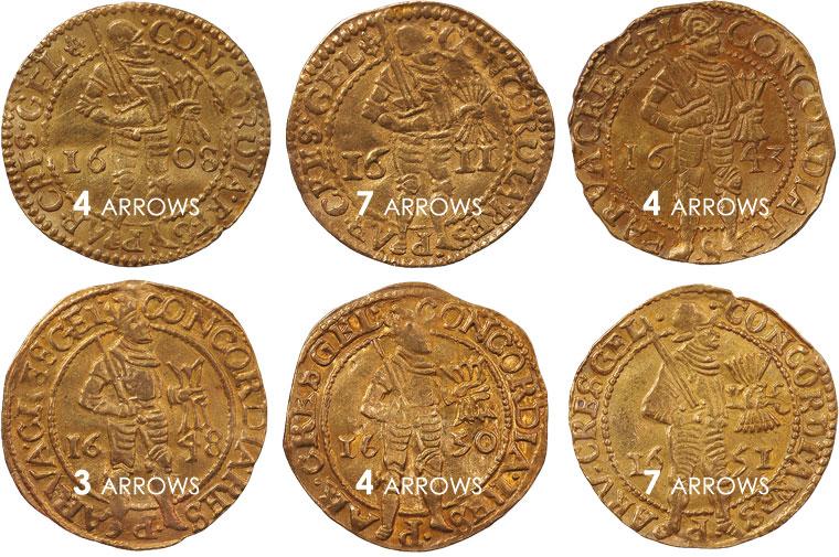 arrows on ducats