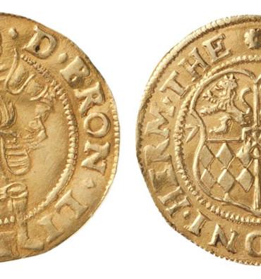 1683 gold ducat piedfort