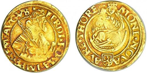 Thorn gold ducat (source: www.monnaiesdantan.com)