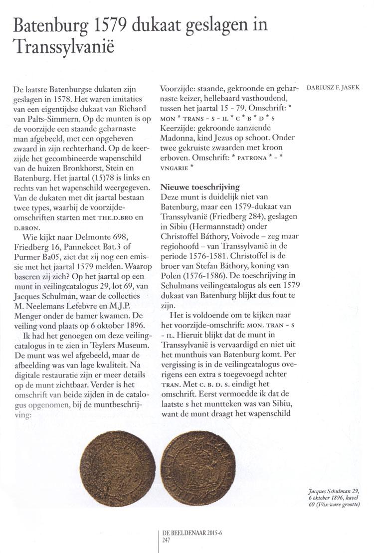Batenburg gold ducat