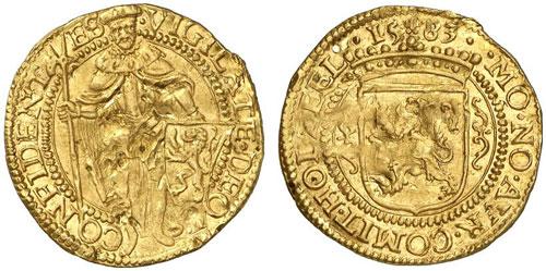 1583 Holland gold ducat