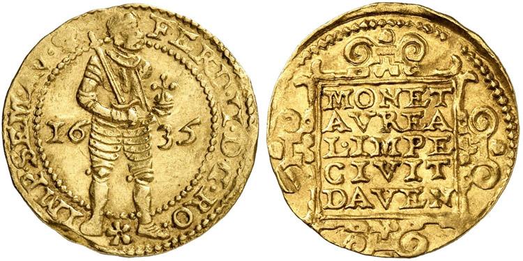 Deventer 1635 ducat