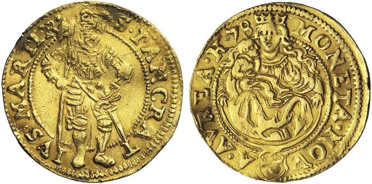 Hedel 1758 ducat (Jasek 38)